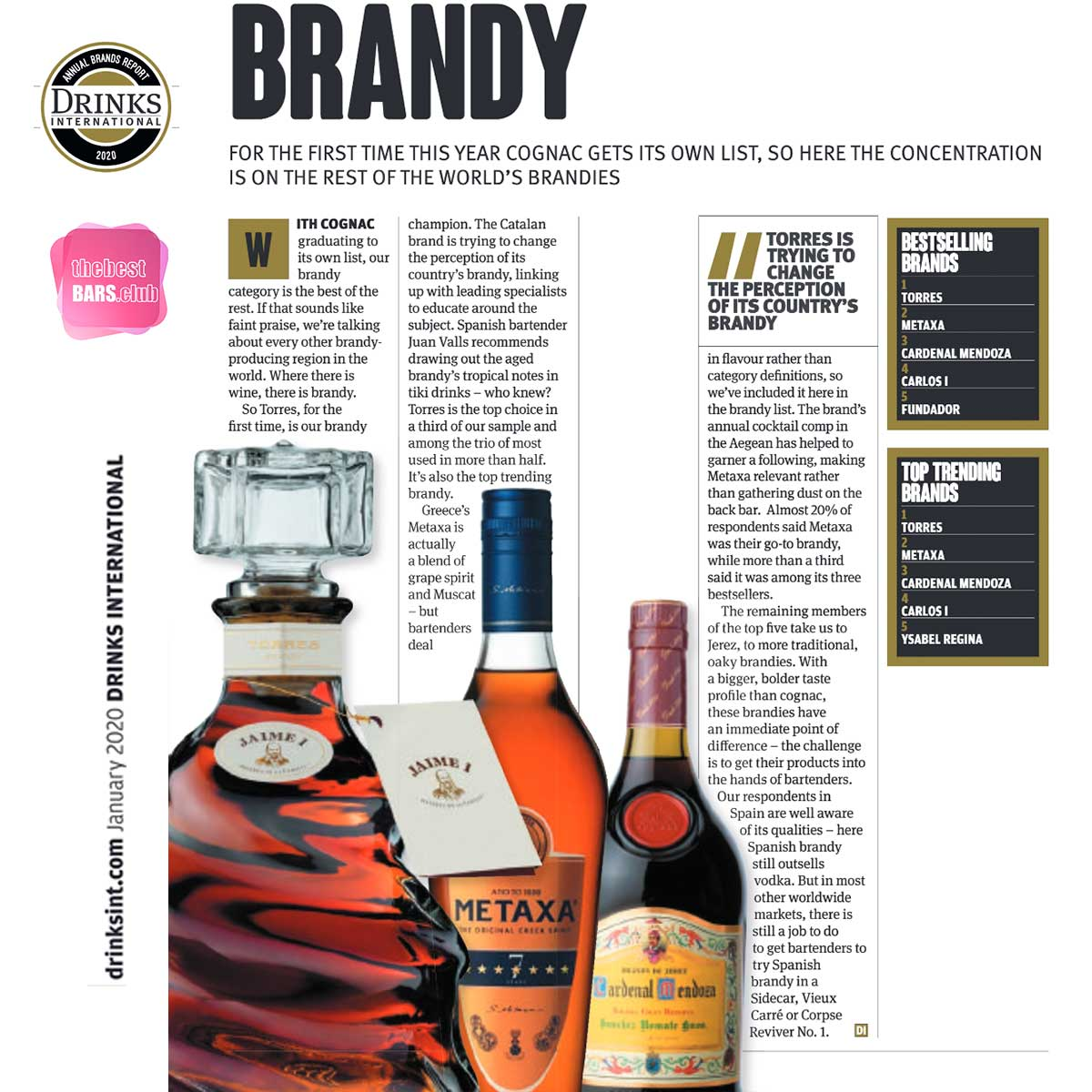 Drinks International Brands Report 2020